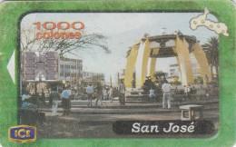Costa Rica, CRI-C-58, Provinces, San Jose (1St Edition), 2 scans.