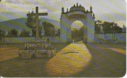 PC Oaxaca - Atrium Of The Church At Tlacochaguaya (6025) - Mexiko