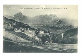 Cp, 38, Seyssinet Et Le Massif De La Chartreuse, écrite 1918 - Francia