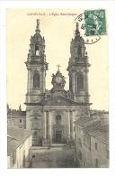 Cp, 54, Lunéville, L'Eglise St-Jacques, Voyagée 1909 - Luneville