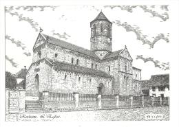 Cp, 67, Rosheim, L'Eglise - Maillard - Other Municipalities