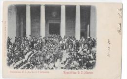 SAN MARINO-REPUBBLICA DI S.MARINO PROCESSIONE DI S.MARINOIL 3 SETTEMBRE - San Marino