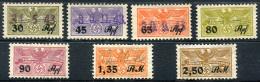 Third Reich - Collection Of Used Nazi Social Insurance (Urlaubsmarke) Stamps - Deutschland