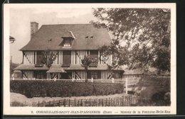 CPA Cormeilles-Saint-Jean-d'Asnieres, Manoir De La Fontaine-Belle-Eau - Le Manoir
