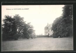 CPA Fontaine-la-Soret, Chateau - France