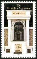 ! ARGENTINE / ARGENTINA: Mi #2368 Yv #1977 Dr. Joaquin Gonzales. Monument (1997) MNH / Neufs *** - Argentinien