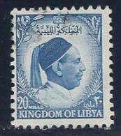 Libya, Scott # 141 Used King Idris, 1952 - Libya