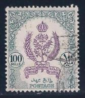 Libya, Scott # 164 Used Emblems & Crown, 1955 - Libya