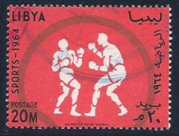 Libya, Scott # 260 Used Olympics, 1964 - Libya
