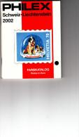 Catalogo Philex 2002 - Schweiz-Liechtenstein - Preise In Euro - Svizzera