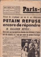 """JOURNAL : PARIS PRESSE DE 26 JUILLET 1945 """"PETAIN"""" - Journaux - Quotidiens"""