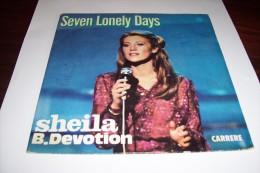 SHEILA - °  SEVEN LONELY DAYS - Vinyles