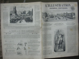 L'ILLUSTRATION 1333 TOURNUS/ VIN CHYPRE/ ND PARIS/ ALGERIE/ LE HAVRE/ TIFLIS  12 SEPTEMBRE 1868 - 1850 - 1899