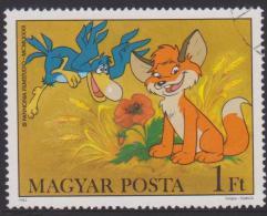 Hungary Mi 3580 Cartoons - Fox And Bird - Wheat - Poppy - 1982 - Hongarije