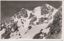 Bergstation Und Hotel Der Tiroler Zugspitzbahn 2805 M Mit Zugspitzgipfel - Non Classificati