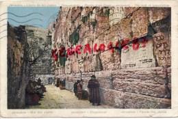 ISRAEL - JERUSALEM - MUR DES PLEURS - Israel
