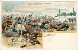 67 - Woerth -  Cpa Gruss Auss - ** Bataille Du 6 Août 1870 ** - Voir 2 Scans - Woerth