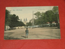 SPA  - Place Royale  -  1907  - (2 Scans) - Spa