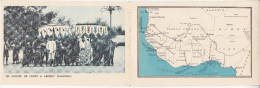 CPA 3 VOLETS EXPO COLONIALE 1931 SENEGAL UN GROUPE DE CHEFS A ABOMEY DAHOMEY + DAKAR L' ANSE BERNARD - Senegal