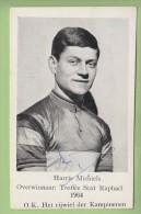 Harrie MICHIELS  - Autographe Manuscrit  - Vainqueur Trophée Saint Raphaël 1964 - 2 Scans - Ciclismo