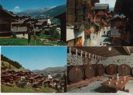 Grimentz - Lot De 14 Cartes Postale ° Grimentz - Lot Von 14 Postkarten - Cartes Postales