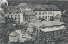 Clervaux (Klierf) - Hôtel Koener - Terrasse - Clervaux