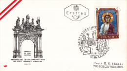 Oostenrijk - FDC 13-10-1967 - Romanische Fresken - Michel 1246 - FDC