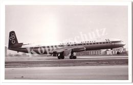 Flugzeug Echtfoto  (z826) - 1946-....: Moderne