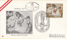 Oostenrijk - FDC 28-4-1967 - Muttertag - Michel 1237 - FDC