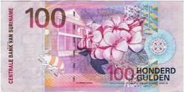 """100 GULDEN """"SURINAME""""  1 Janvier 2000  Ble54 - Surinam"""