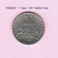 FRANCE   1  FRANC  1977  (KM # 925.1) - France