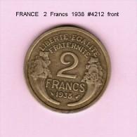 FRANCE   2  FRANCS  1938  (KM # 886) - France