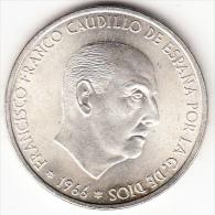 ESPAÑA  1966.ESTRELLA 19-68.100 PTS.FRANCO DE PLATA. SIN CIRCULAR . CN 4013 - [ 5] 1949-… : Reino