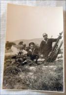 FOTO ORIGINALE  REGGIA MARINA BATTERIA CONTRAEREA TOLONE 20 6 1943 - Guerre, Militaire