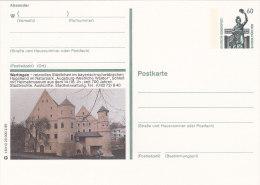 BPK P 139 T 8/113 20.00 2.89, Wertingen Schloss, Postfrisch - Bildpostkarten - Ungebraucht