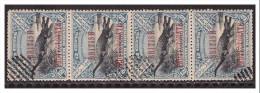 North Borneo 1901 SG 135 Strip Used Crocodile - North Borneo (...-1963)
