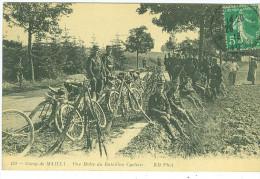 Une Halte Du Bataillon Cycliste - TBE - Mailly-le-Camp