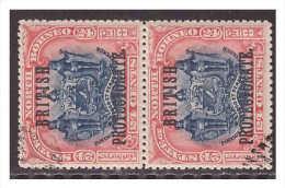 North Borneo 1901 SG 138 Pair Used - North Borneo (...-1963)
