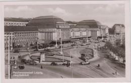 AK - Reichsmessestadt Leipzig - Hauptbahnhof  1941 - Leipzig