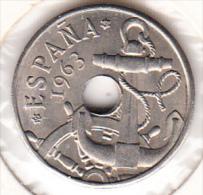 ESPAÑA 1963 ESTRELLAS 19-65. 50 CENTIMOS.RARA. NUEVA SIN CIRCULAR CN 4016 - 50 Centimos