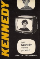 # KENNEDY TV TELEVISION ITALY 1950s Advert Pubblicità Publicitè Reklame Publicidad Radio TV Televisione - Television