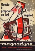 # MAGNADYNE TV TELEVISION ITALY 1950s Advert Pubblicità Publicitè Reklame Publicidad Radio TV Televisione - Televisione