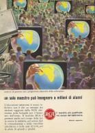 # RCA TV TELEVISION ITALY 1950s Advert Pubblicità Publicitè Reklame Publicidad Radio TV Televisione - Television