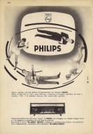 # PHILIPS TV TELEVISION ITALY 1950s Advert Pubblicità Publicitè Reklame Publicidad Radio TV Televisione - Television