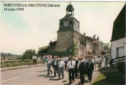 VARENNES EN ARGONNE-Inauguration Des Panneaux Relatifs A L'arrestation De Louis XVI(69475) - Sonstige Gemeinden