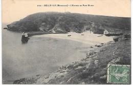 BELLE ILE EN MER - L'entrée Du Port Blanc - Belle Ile En Mer