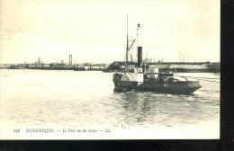 DUNKERQUE - Port Vu Du Large - Avec Bateau .* 1918 --** - Dunkerque