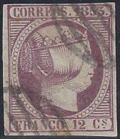 ESPAÑA 1873 - Edifil #18 - VFU - 1872-73 Reino: Amadeo I