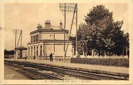 Dept Div - Orne - Ref N 826 - Nonant Le Pin - La Gare - Gares - Lignes De Chemin De Fer - Carte Bon Etat - - France