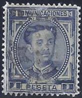 ESPAÑA 1876 - Edifil #180 - VFU - Usados